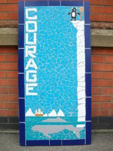 One of twenty two murals created at Lethbridge Primary School.