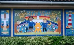 A whole school project for Mangotsfield Field primary School